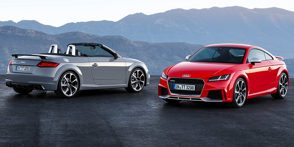 #Bejing2016: #Audi Introduces the New #TTRS Coupe and TT RS Roadster- https://t.co/VQRnmW0wZs https://t.co/wCSHs7wtGE
