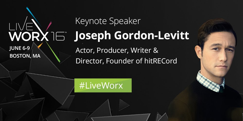 .@hitRECordJoe: Actor, producer and now keynote speaker at #LiveWorx 2016 ► https://t.co/YDzTdf2WMh #IoT https://t.co/YXlSOMpxDN