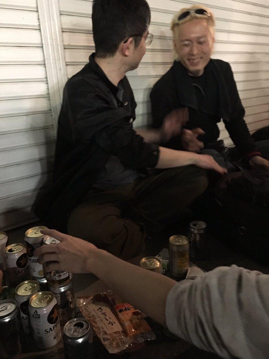 向井秀徳と下北沢で乾杯なう https://t.co/tvddiK47G4