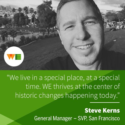 He's got the right combo of strategy, smarts & swagger. Welcome, @stevekerns, GM & SVP, SF https://t.co/Ugy9pjauwz https://t.co/xYRDJ7Ed74