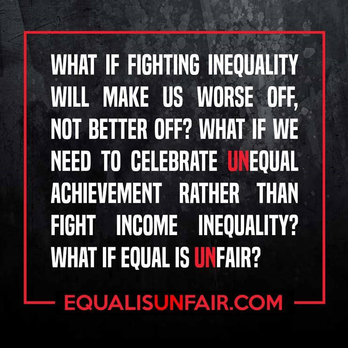 https://t.co/wRxYRF6ZBI RT this for a chance to receive a signed copy of #EqualisUnfair and a t-shirt! https://t.co/jfmwHcriTf