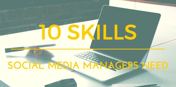 Want to step your #socialmedia game up? Here are 10 must-have skills: https://t.co/yEgZhvFHPH #smm https://t.co/QJJXI4nbFl