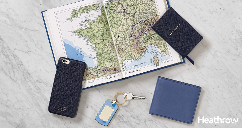 From the office to the departure lounge, travel in style with @Smythson travel accessories: