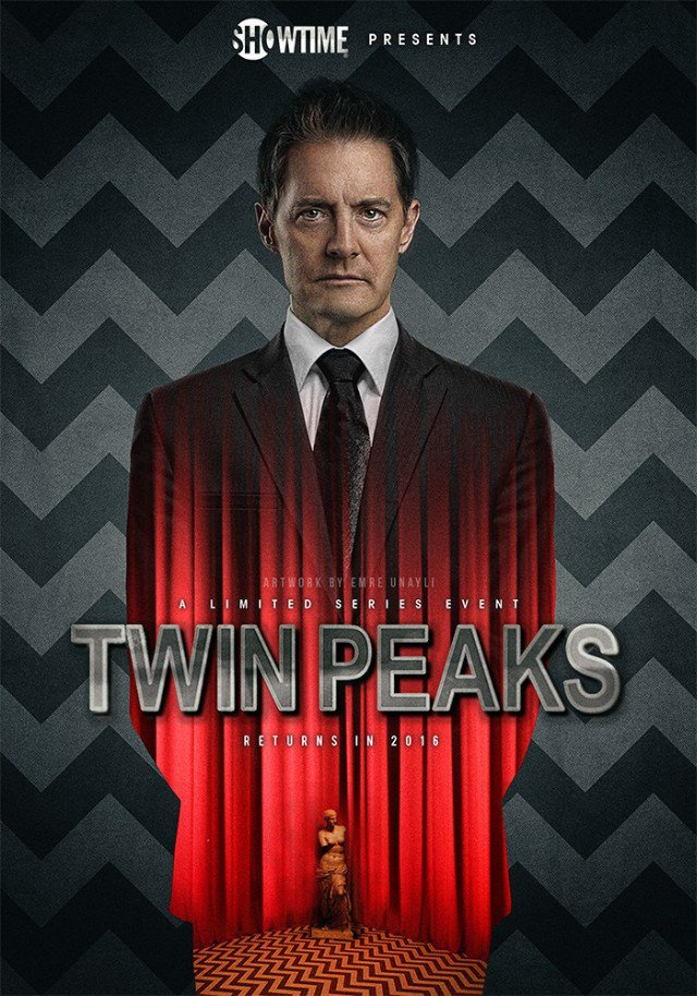 Emre Unayli's TWIN PEAKS reboot art. Wow. https://t.co/W3yKWmyR9o