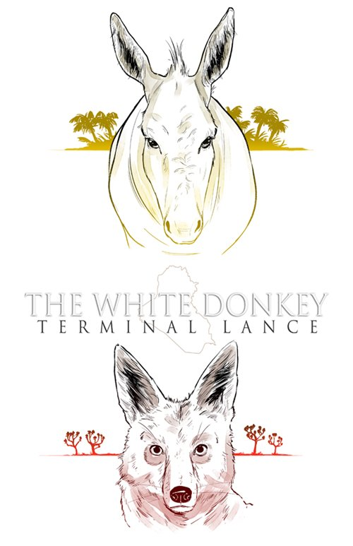 WIN a signed copy of @TLCplMax's THE WHITE DONKEY! RT Max's exclusive new artwork for a chance to win. #whitedonkey https://t.co/YbVYk0hvtw