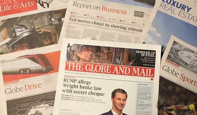 Globe and Mail issues apology after new allegations of plagiarism against Margaret Wente https://t.co/ulrmdLbs6J https://t.co/MVpI3H90pA