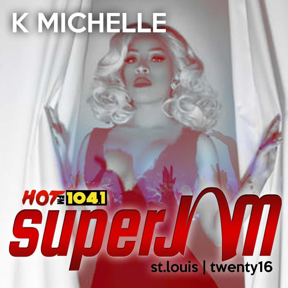 With More Issues than Vogue @kmichelle is set to tear down the 2016 Super Jam stage! https://t.co/cwj9YaEo8k
