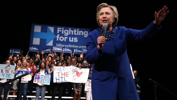 The Hillary rally? Does politics influence the stock market? From @GlobeInvestor
