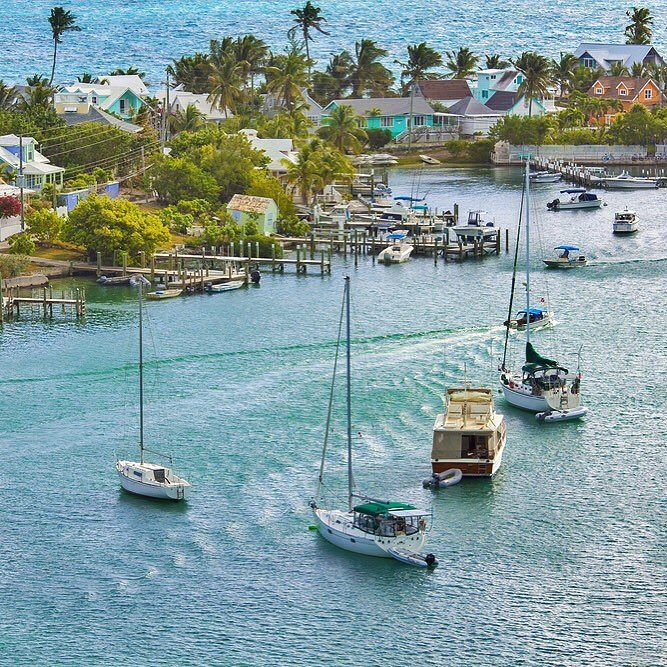 Hope Town, Elbow Cay Bahamas. #justgo #caribbean #Bahamas #islands #travel #boats #sailing… https://t.co/N6IwvJ8eGR https://t.co/6DlQ1vKcpe