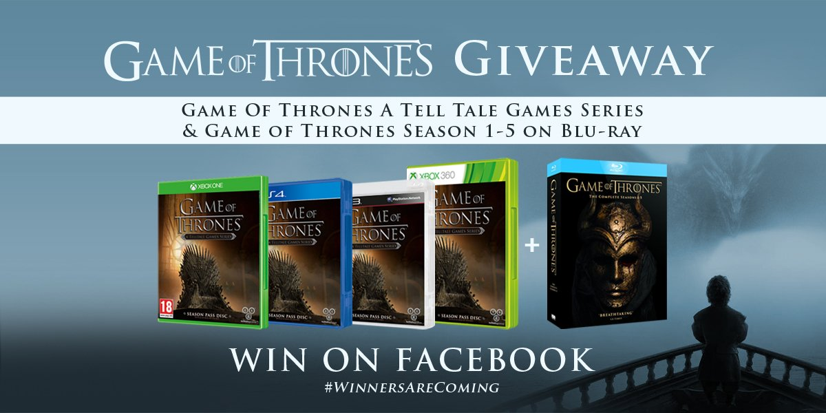LAST DAY for our #GameOfThrones #GiveAway§ For a chance to WIN, Simply LIKE OUR PAGE and SHARE THE (original) POST! https://t.co/3dX1oETZqV