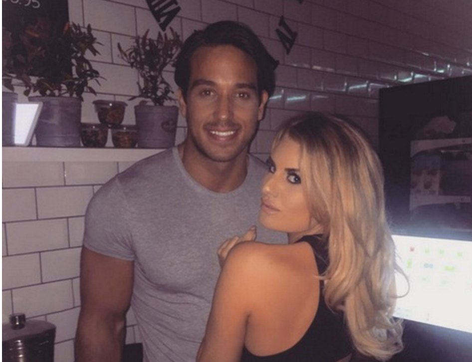 TOWIE's Danielle says boyfriend Lockie is her very own Mr Big...