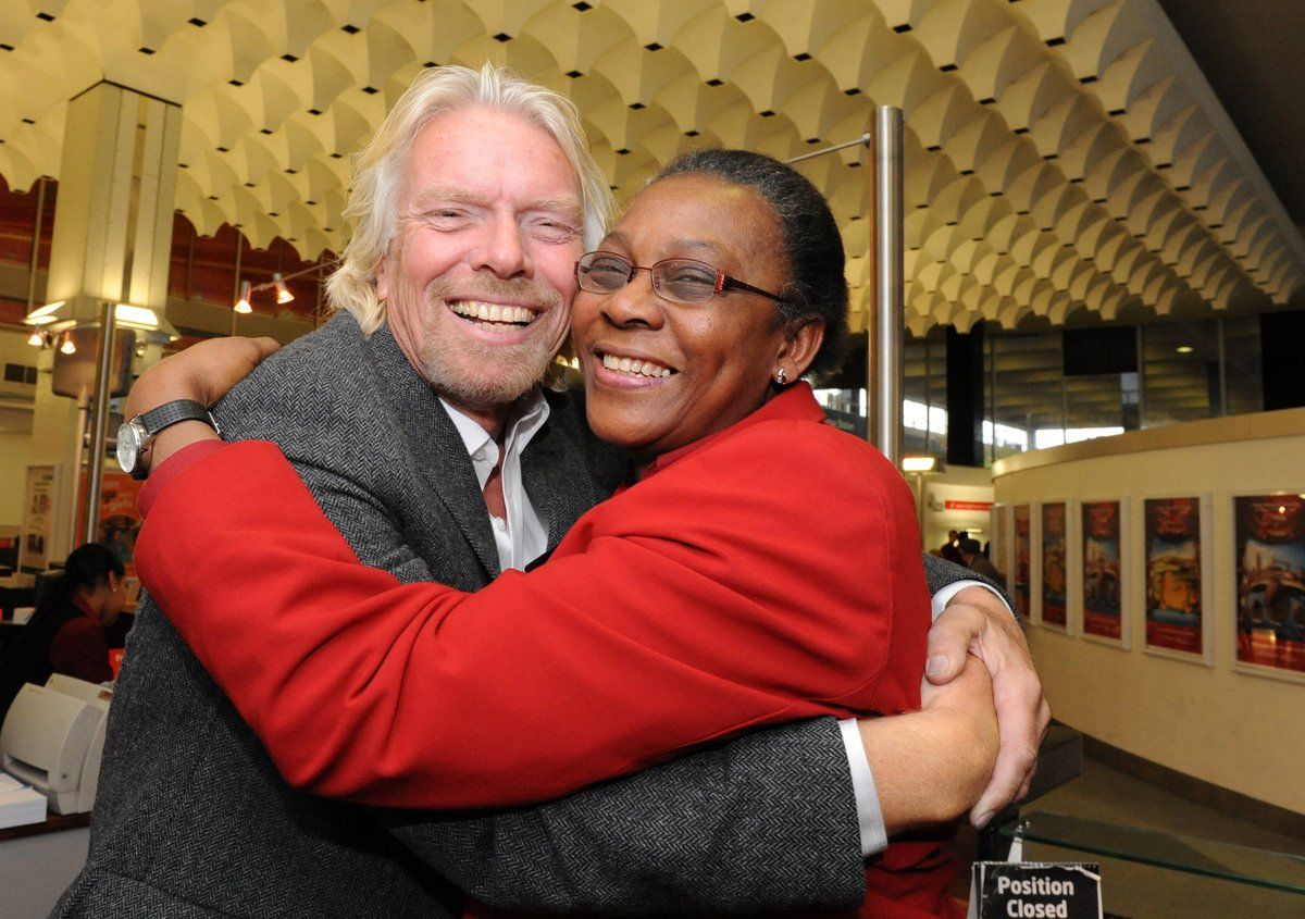 RT @Virgin: .@richardbranson on why you should always go the extra mile