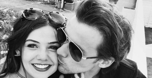 'Lucky' Louis Tomlinson goes public with actress girlfriend