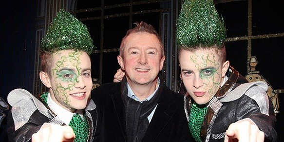 Louis Walsh doesn't look back at Jedward fondly, it would seem...