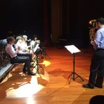 Warming up for a night of music @NISChina https://t.co/HXQFBpZf76