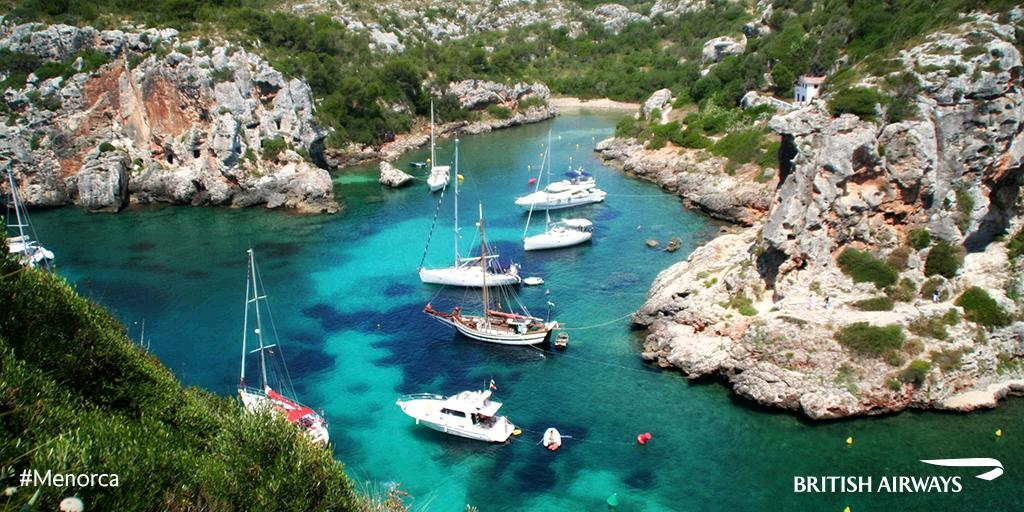 Don't forget we'll be flying Heathrow – Menorca starting this Friday. Book now