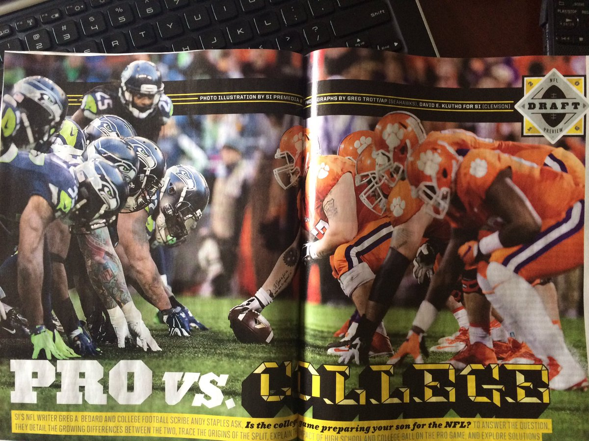 Great photo illustration in this week's SI. #Clemson https://t.co/zzXIYonr3e