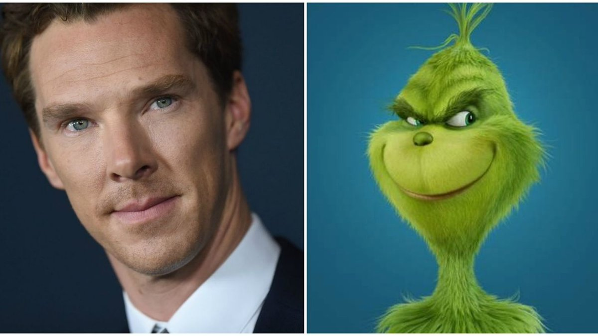 Of course Benedict Cumberbatch is voicing the Grinch