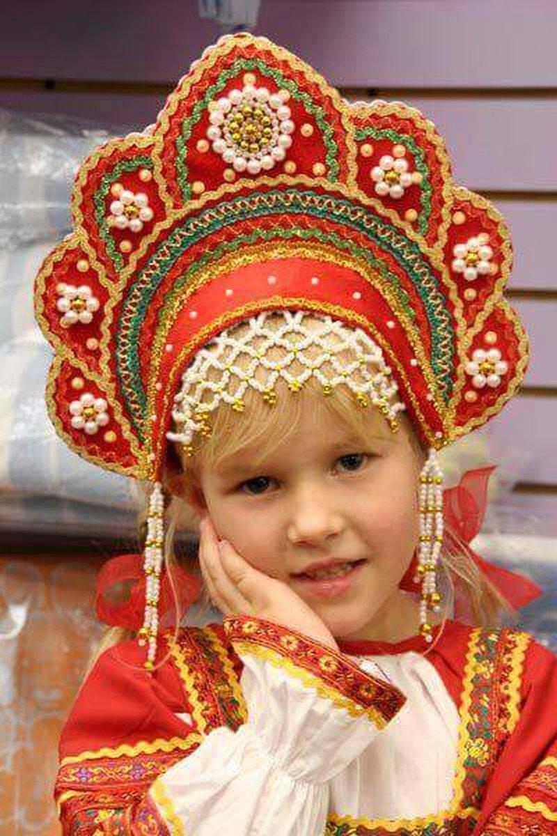 Сделать кокошник русско народный своими руками