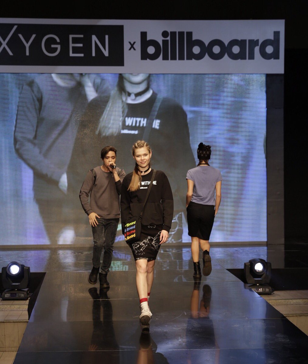 Rockin' our #OXYGENxBILLBOARD style! What's your favorite?