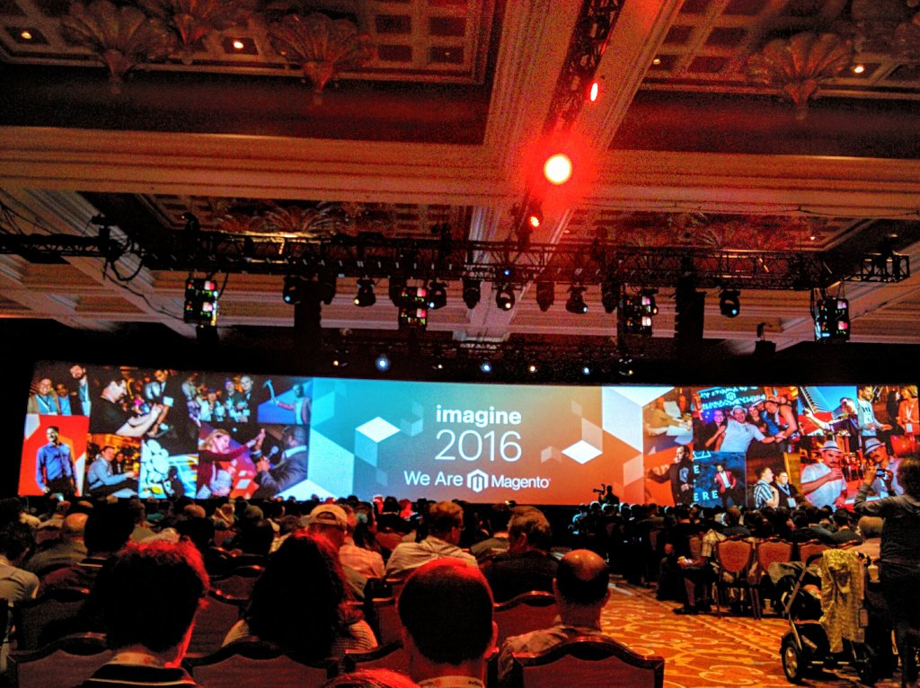 i95Dev: And that's a wrap! #MagentoImagine was everything it was promised to be & more. Can't wait to come back! https://t.co/BpjpGFddke
