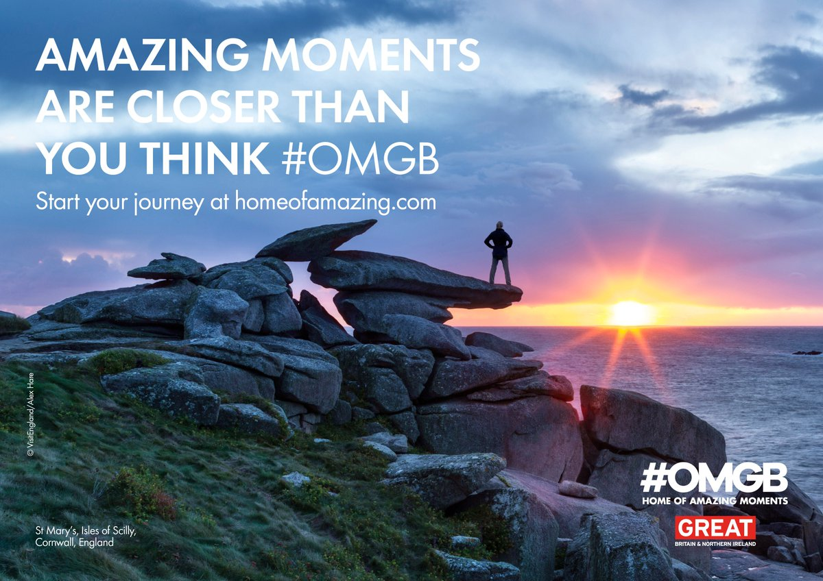 Call out for @BarackObama @POTUS to use #OMGB to promote UK as 'Home of Amazing Moments' during his visit next week https://t.co/Sp1nkuGSnT