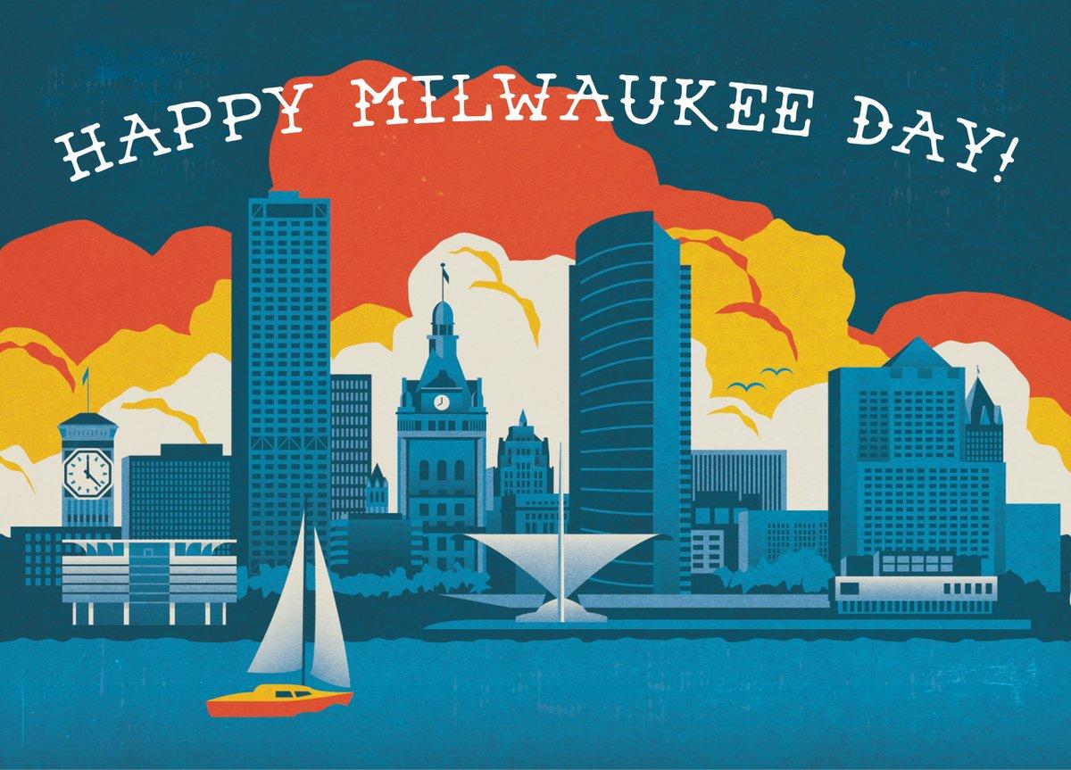 Happy #MilwaukeeDay!   #MKEDAY #414day https://t.co/eBwK5yxgfT