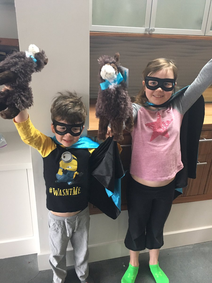 atkinson_jj: Thanks @classyllama I think you won the #MagentoImagine swag arms race. Happy kids. #LouieLlama https://t.co/Pd9VzyrmNh