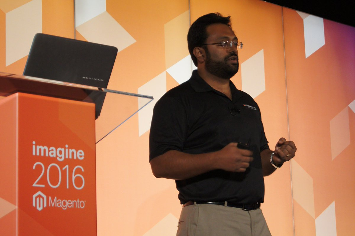 kensium: Our CEO, Rahul Gedupudi, spoke to #MagentoImagine about connecting ERP to @magento.  https://t.co/oDDA0Ge5zb https://t.co/OYN6SanWye
