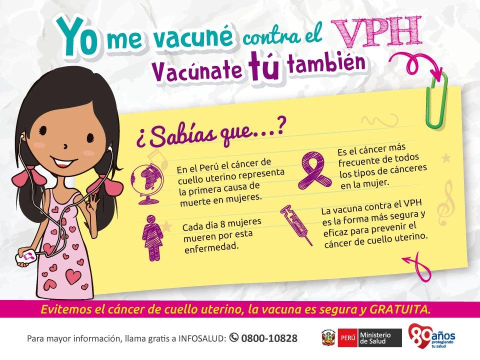 El calendario de vacunaci n minsa incluye la vacuna vph tenemos uno de los esquemas m s - Alimentos que evitan el cancer ...