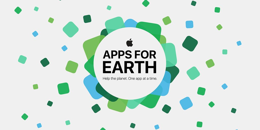 We are excited to team up with @World_Wildlife and @AppStore for #AppsforEarth! https://t.co/BAl7mycexD