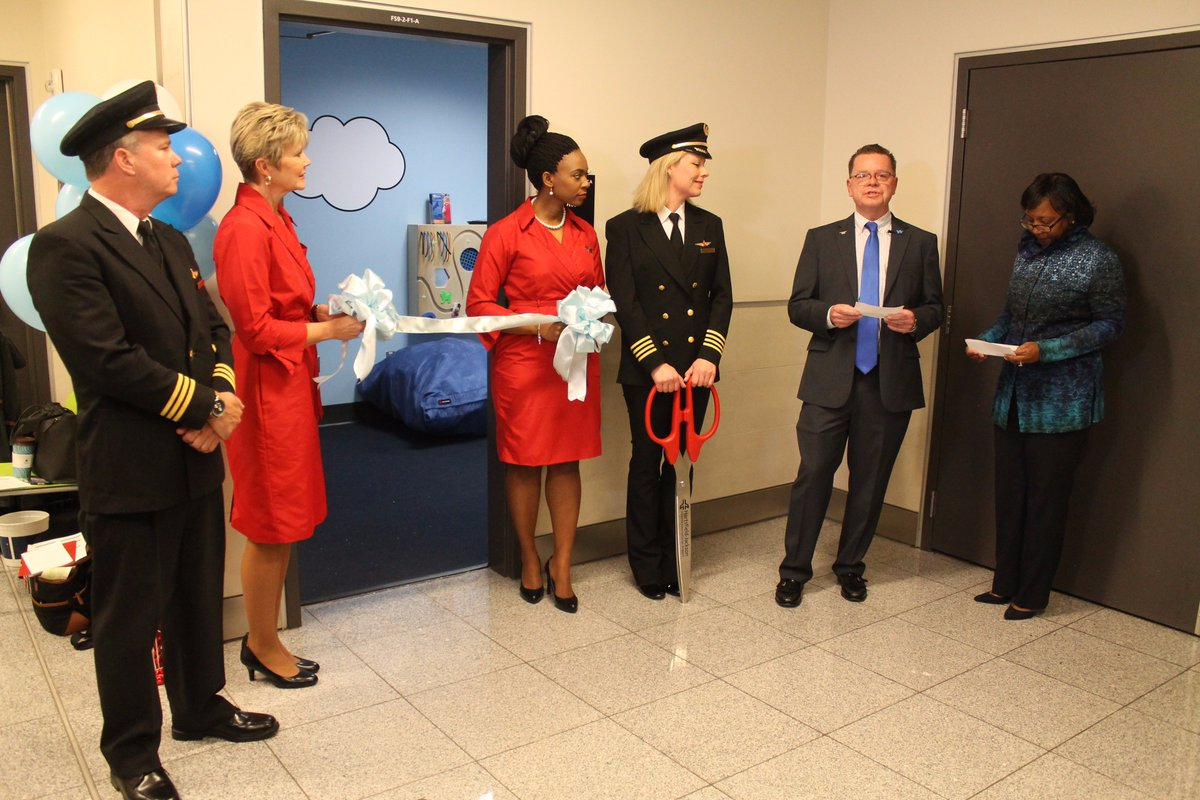.@Delta launches calming room for customers on autism spectrum. @DeltaNewsHub