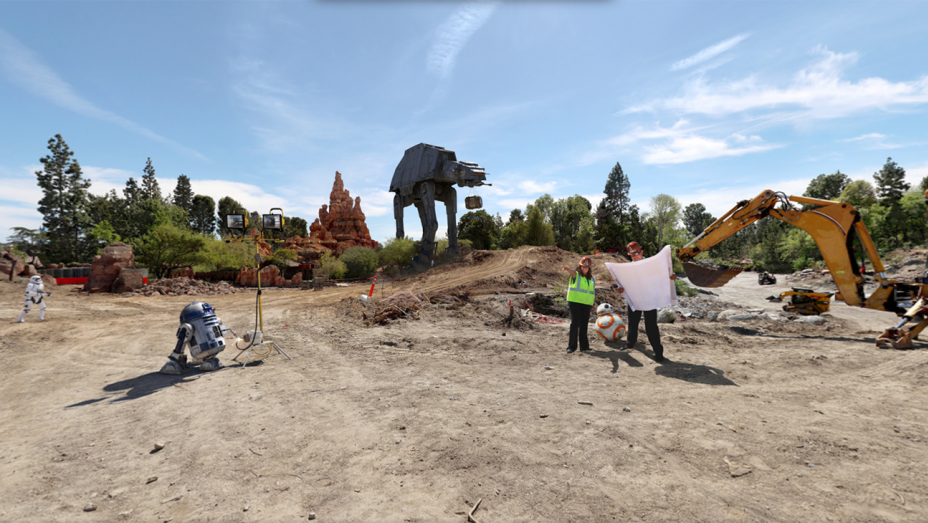 Disney Breaks Ground on 'Star Wars' Land in California and Florida