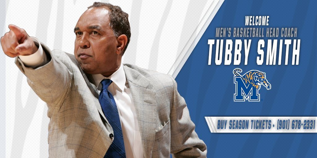 Tiger Nation,  Join us in welcoming our new head coach, Tubby Smith!! #TigerFamily https://t.co/d8FV5ZOcbW