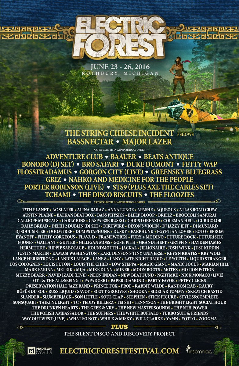 .@STS9 brings #AxeTheCables to @Electric_Forest!  https://t.co/8vr4YHl3ZO<==see the Phase 2 additions!  Who's next? https://t.co/CdNvAXdgQ6