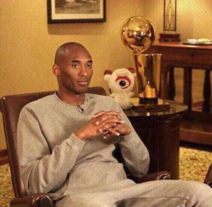 "Kobe at home trying spend time with his wife and kids like ""So what y'all like to do?"" https://t.co/wLH4ZX9ceu"