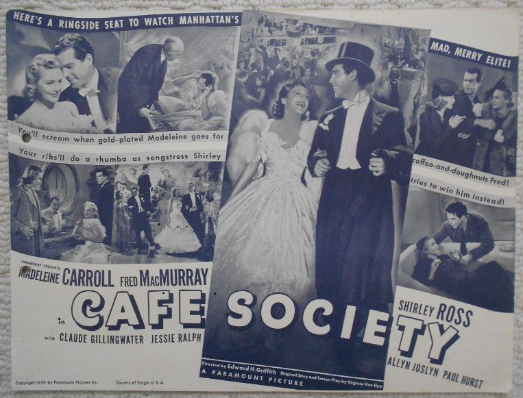 Woody Allen's CAFE SOCIETY opens in NYC on July 15. https://t.co/FbYOlzLAPK