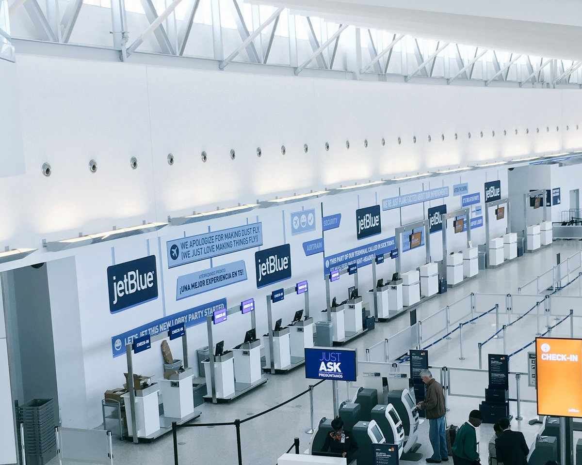 At @JetBlue, we take our construction walls very seriously. Check out the insanely clever work of our Brand team. https://t.co/lC8Hsyravx