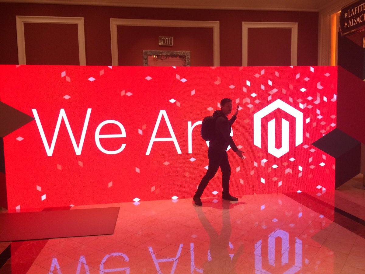 Codisto: @magento proud 2 b part of #MagentoImagine Amazing ecosystem, fantastic ppl, great content. Stunning event. Congrats https://t.co/9BH5l7d0dj