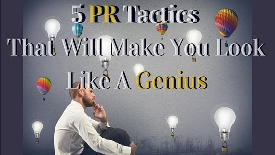 5 #PR Tactics That Will Increase Your PR IQ: https://t.co/EuS6PgT4LM by @wendymarx https://t.co/jbRGTORD9h