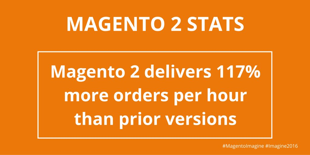 Magecloud_net: Magento Imagine 2016 - more stats from the event here: https://t.co/ngbGJYctOu #imagine2016 #magentoimagine https://t.co/OEOWhA3LgX