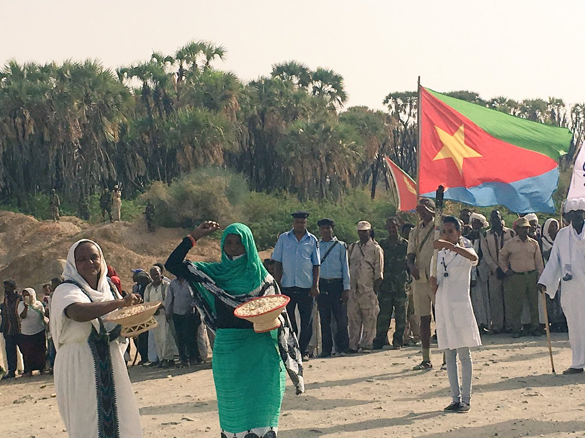 Resilience. Sacrifice. Honor. Independent. Fierce. Majestic. All words that define my people, my flag, my #Eritrea!! https://t.co/SsJUlaqDIO
