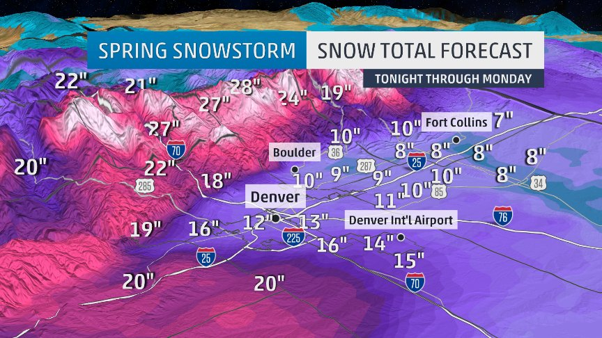 Weather channel snowfall forecast maps show complexity of – Weather Channel Travel Map