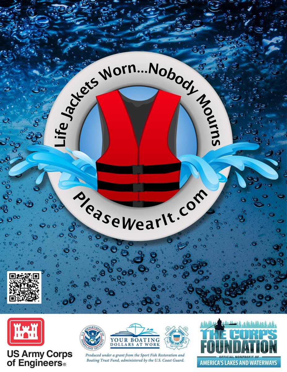 If you are going out on the water this weekend remember to wear your life jacket. https://t.co/wdbGDgyueS
