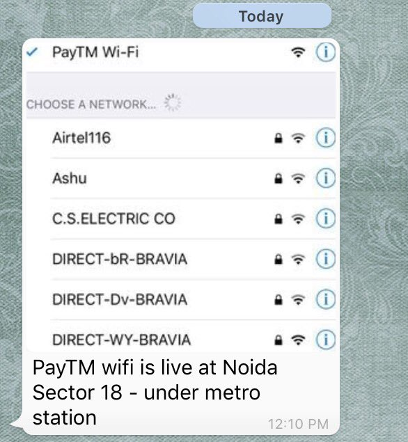 Coming soon, Paytm WiFi to #PaytmKaro for everyone, even without an Internet connection. https://t.co/AuQw07KSWL