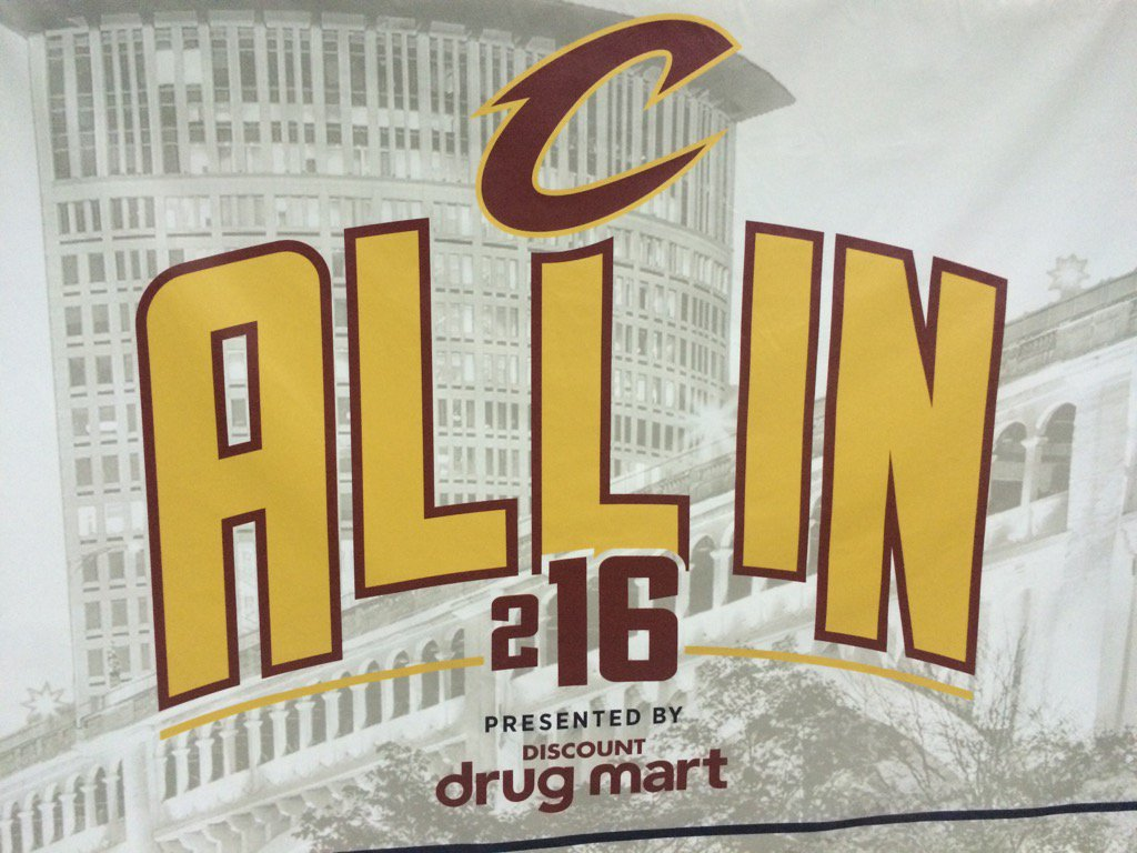 Something special is happening this post season for @cavs. If you believe in #ALLin216 retweet me on this #TheLand https://t.co/tBWZ0oryBq