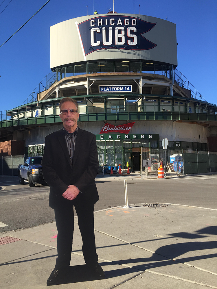 RT @sternshow: #FlatRonnie decided to take a trip to the Windy City to root for the @Cubs. Go Cubs Go! #FlatRonnieFriday https://t.co/81ANe…