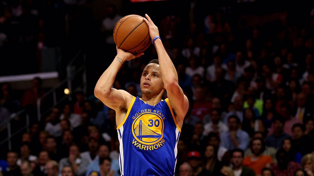 Steph broke the record by 40% w/402 3s. It's equal to 102 Homeruns 2,958 rush yds 129 hockey goals Throwing 77 TDs https://t.co/2jniTF6bc4