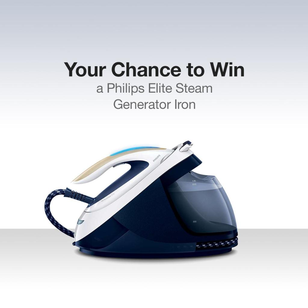 You could #win a @Philips Elite Steam Generator Iron. Follow us, RT and Like to enter! T&Cs: https://t.co/7E4U6ErweV https://t.co/bw91eXpFqs