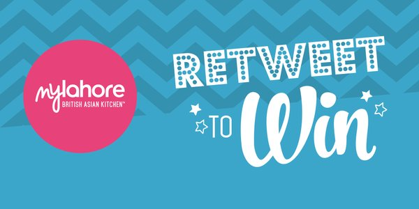 Its #FreebieFriday #competition. #Follow @mylahore & #RT this image to #WIN £20 #Mylahore #voucher Ends 23:00 22/04 https://t.co/ubkklBQOUl